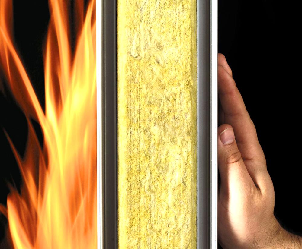 تست مقاومت حرارتی پشم شیشه